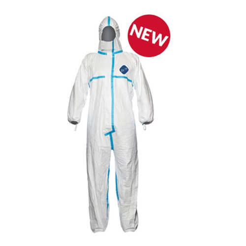 DuPont™ Tyvek® Plus Coverall w/ Hood DuPont, Tyvek® Plus, TY198T WH, Coverall with Hood, Ebola