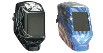 Welding Helmets Head-Turners™ Graphic Jackson Safety, Premium TIG/MIG Welding Gloves, 0744-graphic