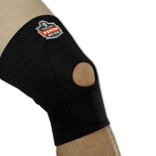 615 Knee Sleeve with Anterior Pad and Open Patella Ergodyne, 615 Knee Sleeve with Anterior Pad and Open Patella, 16533, 16534, 16535