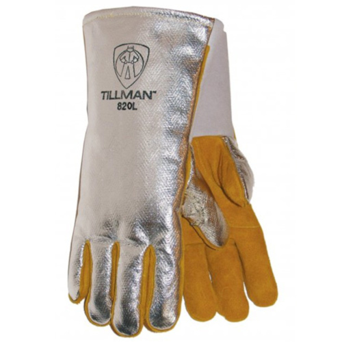"14"" Aluminized Rayon/Cowhide Welding Gloves"