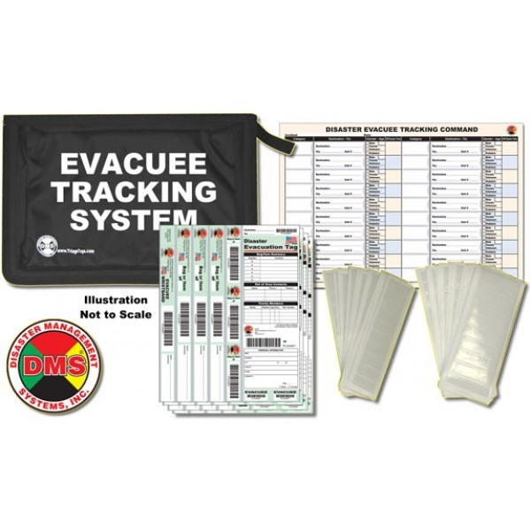 Patient Tracking Kit Disaster Management Systems, Patient Tracking Kit, 5567