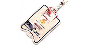 SafeAir Monitoring Badges (HCl) Hydrogen Chloride Morphix, SafeAir Monitoring Badges Hydrogen Chloride, 382024-50