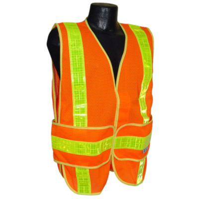 Chevron Class 2 Mesh Safety Vest