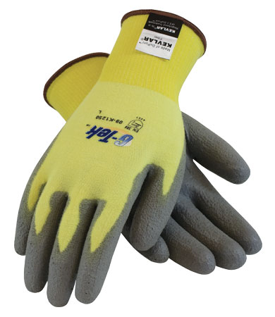 G-Tek Kevlar/Lycra Glove With Polyurethane Coating 09-K1250 | G-Tek Kevlar/Lycra Glove With Polyurethane Coating