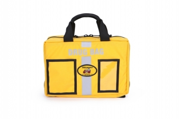 Drug Bag  RB-S450YL| Drug Bag, medical bag, r&b fabrication, yellow, gear bag